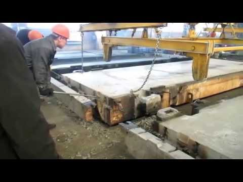 Смазка Барьер-43, видео: Быстрая и легкая распалубка плит ПДН, ПАГ